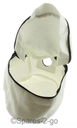 Numatic Henry Hetty Aspirapolvere Panno Lifetime Lavabile Riutilizzabile Cerniera DUST BAG