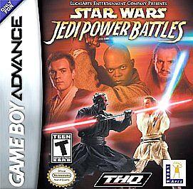 Star Wars Episode 1: Jedi Power Battles, (GB Advance)