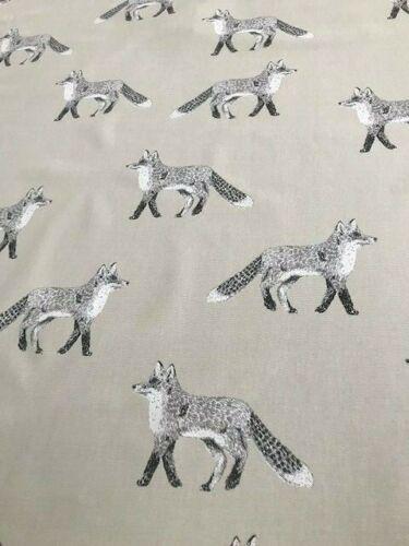 Prestigious Textiles 100/% Algodón Tela Cortina Tapicería ciego señor Fox
