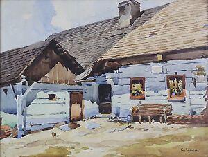 Jean-Camille-Cipra-1893-1952-Pilzen-Tschechisches-Bretagne-Normandie-Ceska