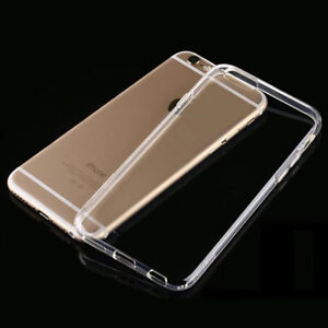 For-Apple-iPhone-6-6S-Transparent-Clear-Gel-Rubber-TPU-Soft-Back-Case-Cover