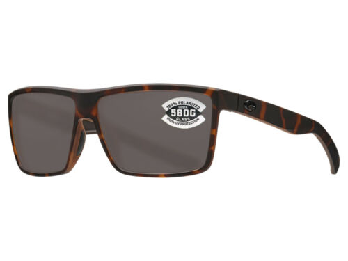 Gray 580 Glass 580G NEW Costa Del Mar RINCONCITO Matte Tortoise