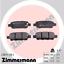 Zimmermann Bremsscheiben /& Beläge SUZUKI GRAND VITARA II 2.4//3.2 Allrad hinten