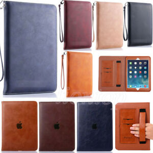 Soft-Leather-Smart-Stand-Wallet-Case-Cover-For-2017-iPad-Pro-Air-amp-Mini-1-2-3-4