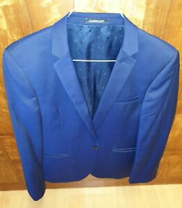 Austin Reed Blue Wool 3 Piece Suit Ebay