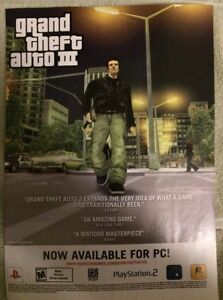 Grand-Theft-Auto-3-Poster-Ad-Print-Playstation-2
