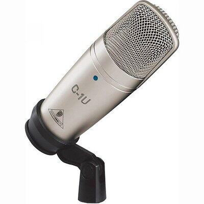 BEHRINGER C-1U USB Studio Condenser Microphon From Japan