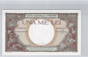 Romania 1000 Lei 21.12.1938 M.0992 N° 24787215 Pick 46