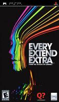 Every Extend Extra Psp Sony Psp