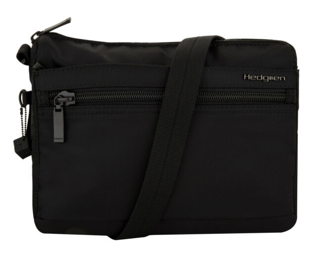 latest lovely luster authorized site Hedgren 5L Eye Shoulder Bag - Black