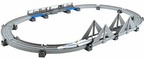 NEW Plarail Advanced súperconducting Maglev L0 system elevated rail set
