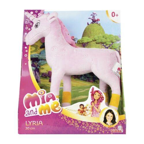 Mia And Me Unicorn Lyria Plush Standing 30 Cm Made in Plush Series TV Simba New