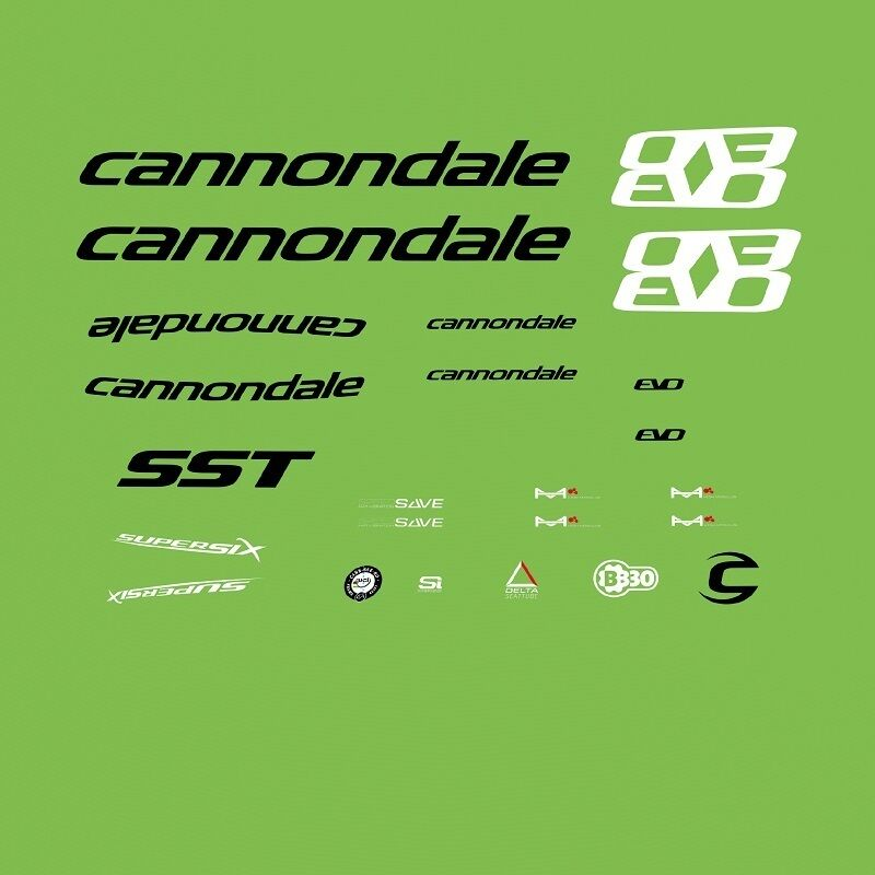 Cannondale Cannondale Cannondale Supersix EVO bicyclette decals, transferts, stickers: n.5500 2537ce