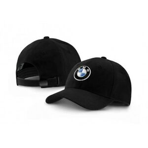 neu original bmw logo cap basecap kappe schwarz black. Black Bedroom Furniture Sets. Home Design Ideas
