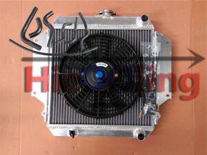 Radiator-SIERRA-SJ410-SJ413-1981-1996-MT-1-0-1-3-Fan-Black-hoses-for-SUZUKI