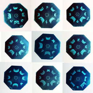 NEW-French-Tip-Nail-Art-Stamp-Stamping-Image-Template-Plate-Q-Series-Q01-Q12