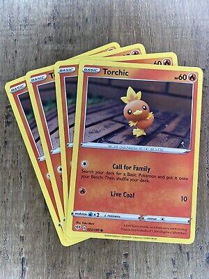 Pokemon Cards Torchic 022 Combusken 023 Blaziken 024//189 Reverse Holo NM//M
