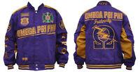 Omega Psi Phi Racing Jacket - Opp