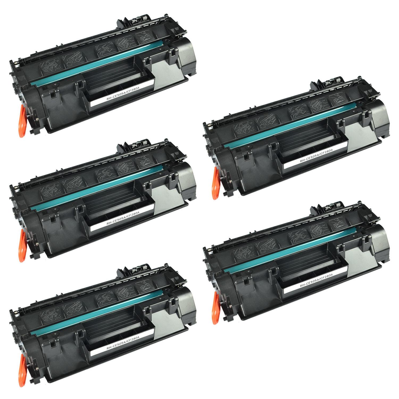 30 Pack CE505A 05A Toner Cartridge For HP LaserJet P2035 P2050 P2055d P2055dn