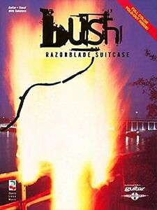 """/""""BUSH-RAZORBLADE SUITCASE/"""" PLAY IT LIKE IT IS GUITAR-TAB//VOCAL MUSIC BOOK NEW!!"""