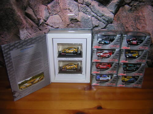 87 Modellauto DTM Modelle Schuco Metal Edition H0 1 J1