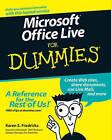 Microsoft Office Live For Dummies by Karen S. Fredricks (Paperback, 2007)