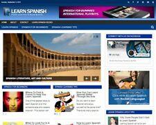 Learn Spanish Blog Established Profitable Turnkey Website For Sale