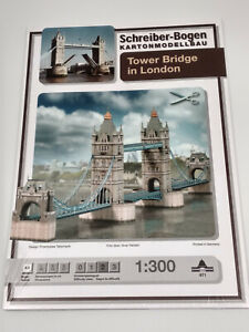 Maquette-a-monter-en-carton-Tower-Bridge-London-longueur-98cm-neuve