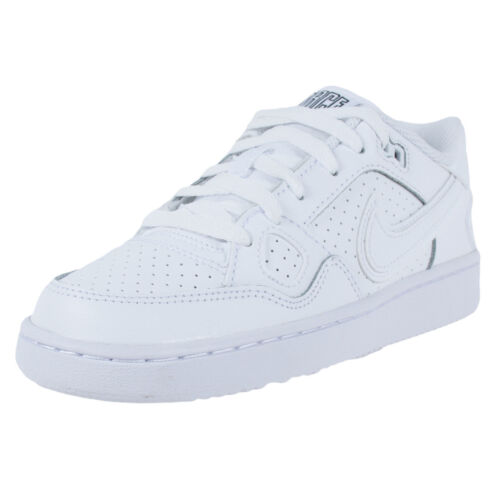 GS 615153-109 White//White Sizes 4-7 New In Box Nike Son of Force Low