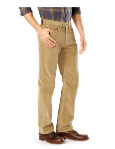 exquisite design 50% price reasonable price Details about Men's Dockers Jean Cut Straight Fit Stretch Corduroy Pants