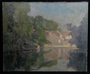 Eugene-Jacques-Schlumberger-1879-1960-Landscape-Postimpressionniste-Brittany
