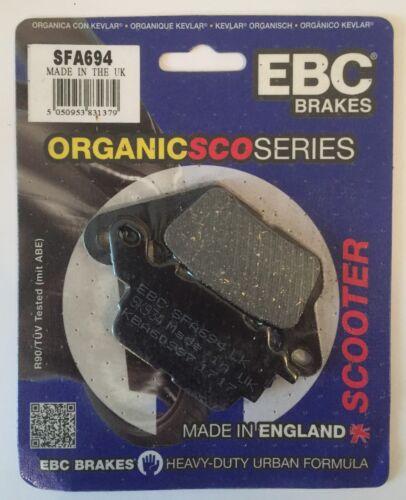 2015 to 2018 EBC Organic FRONT Disc Brake Pads SFA694 Yamaha N Max 125 GPD125