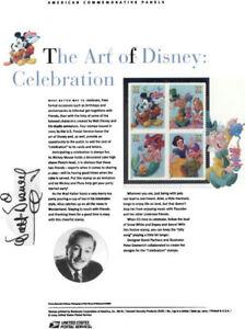 739-The-Art-of-Disney-Celebration-3912-3915-USPS-Commemorative-Stamp-Panel