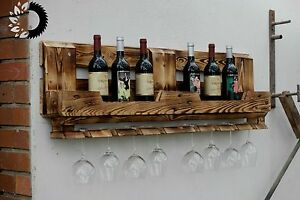 Weinregal-aus-Upcycled-Euro-Paletten-Massiv-Holz-Bar-Recycling