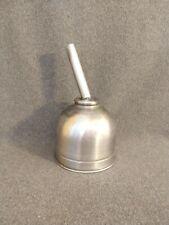 Vintage Stainless Steel Milk Funnel