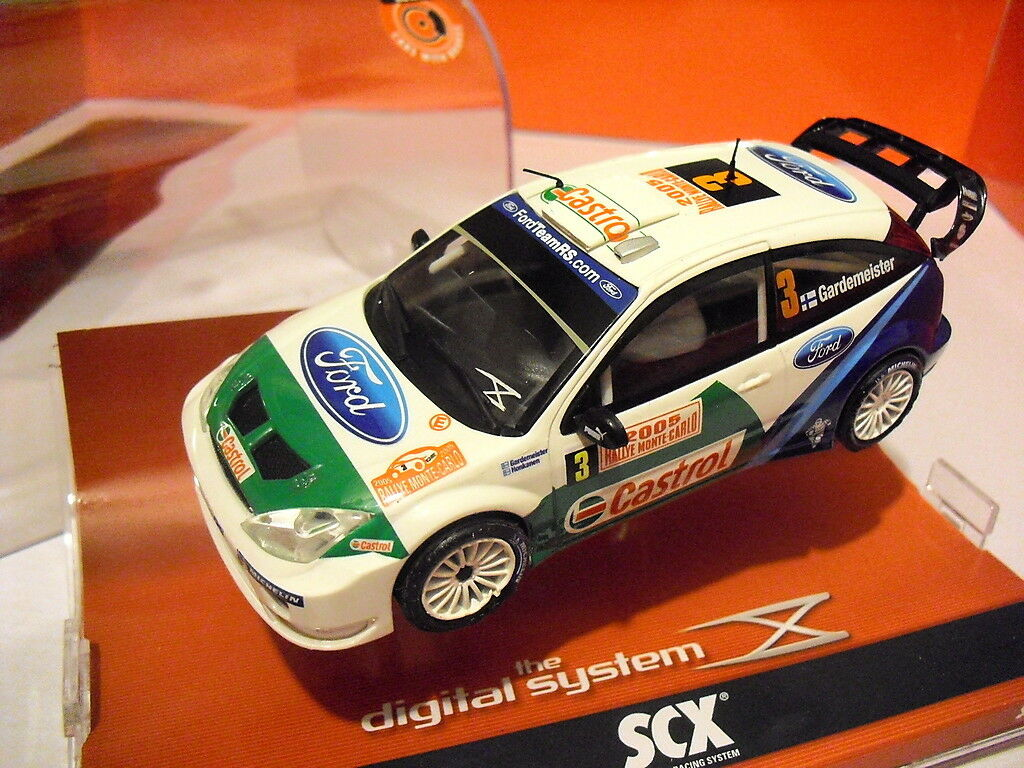 SCX DIGITAL SYSTEM Ford Party WRC Montecarlo New Ref. 13090