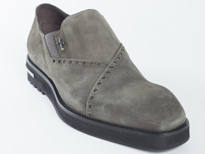 New  Cesare Paciotti  Khaki Suede Shoes US 8 Retail    675