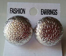 New Latest Indian Bollywood Designer silver  Earrings 1 Pair Gift Set