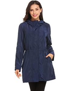 Lightweight Jacket Hooded Rain Raincoat Outdoor 671573410147 Women Soteer Waterproof 1TxqaIwE