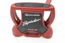 "Taylormade Spider Tour Red 34"" Putter Steel 34 inches +HC"