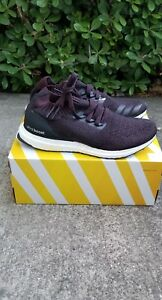 7e4c9d0fea751 NEW Adidas Ultra Boost Uncaged Size 9.5 Burgundy BY2552 100 ...