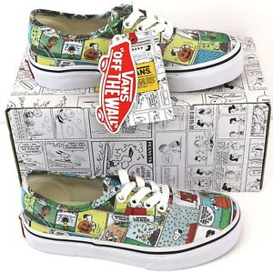 556760215d3f71 Van s Peanuts Comics Authentic Children s Toddler s Kid Lace-Up ...