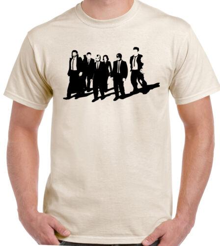 Reservoir Superheroes Mens Funny T-Shirt Dogs Iron Man The Hulk Captain America