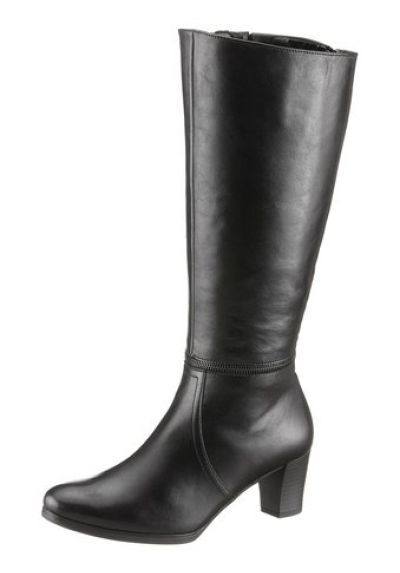 Gabor Boots UK 7-8, 5 New Leather Black Ladies shoes Size 40, 5-42, 5 Width G