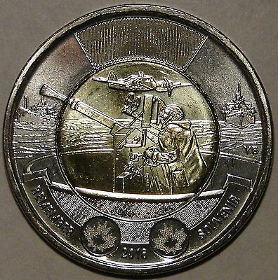 75TH ANNIVERSARY OF THE BATTLE OF THE ATLANTIC CANADA UNC 2016 $2 TOONIE
