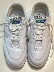 Shoes #W3804 White Walking Shoes Size