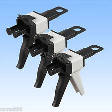 3 Dental Impression Mixing Dispenser Gun Caulking Ab 11 Gun Silicone Rubber