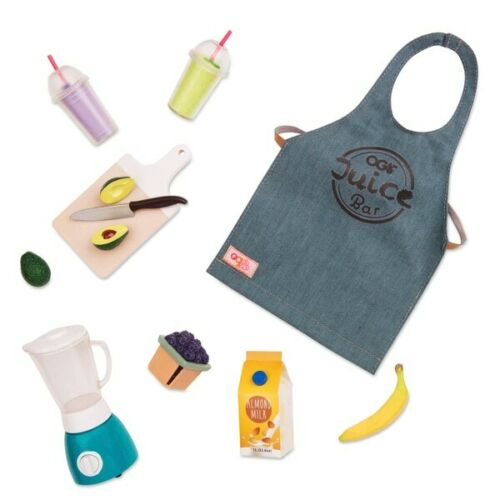 Our Generation Grill Juice Bar Outfit and Accessories NEW