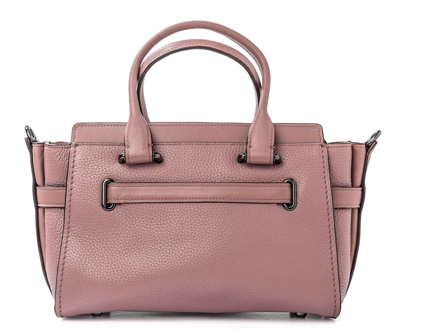 d9ebaf24eeaf1 Coach Swagger 27 Dusty Rose Pink Style 87295 Leather Handbag Bag for ...