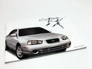 2002 hyundai elantra brochure ebay ebay